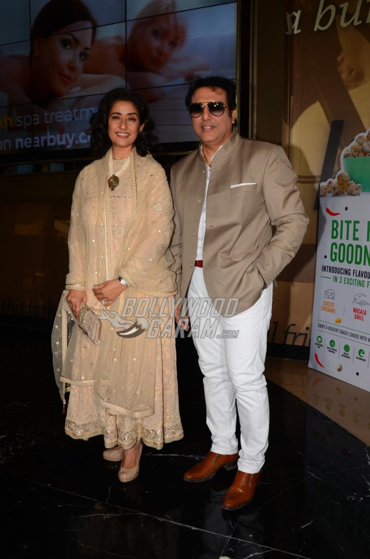 Manisha Koirala and Govinda at trailer launch of Aa Gaya Hero