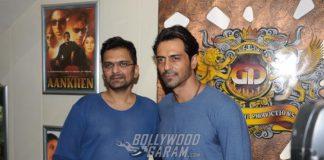 Arjun Rampal promotes Aankhein 2