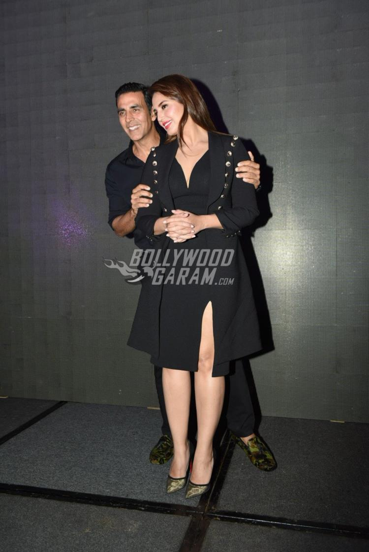 Akshay Kumar and Huma Qureshi at Jolly LLB 2 promotions in Delhi
