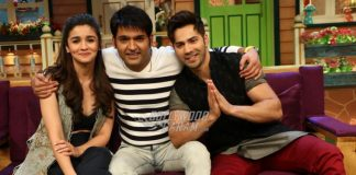Varun Dhawan, Alia Bhatt Promote 'Badrinath Ki Dulhaniya' on Sets of 'The Kapil Sharma Show'