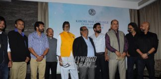 Amitabh Bachchan Lends a Hand to Raise Funds for Alma Mater