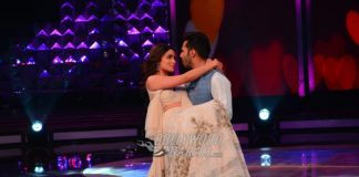 Varun Dhawan and Alia Bhatt Promote 'Badrinath Ki Dulhaniya' on Sets of 'Dil Hai Hindustani'