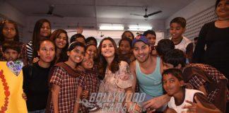 Varun Dhawan and Alia Bhatt promote Badrinath Ki Dulhaniya at an orphanage