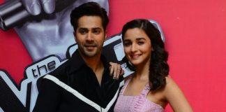 Alia Bhatt and Varun Dhawan promote Badrinath Ki Dulhania on 'The Voice'