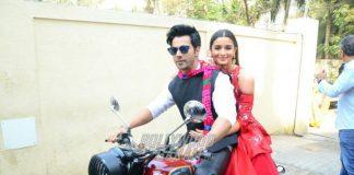 Alia Bhatt and Varun Dhawan reveal trailer of Badrinath Ki Dulhaniya