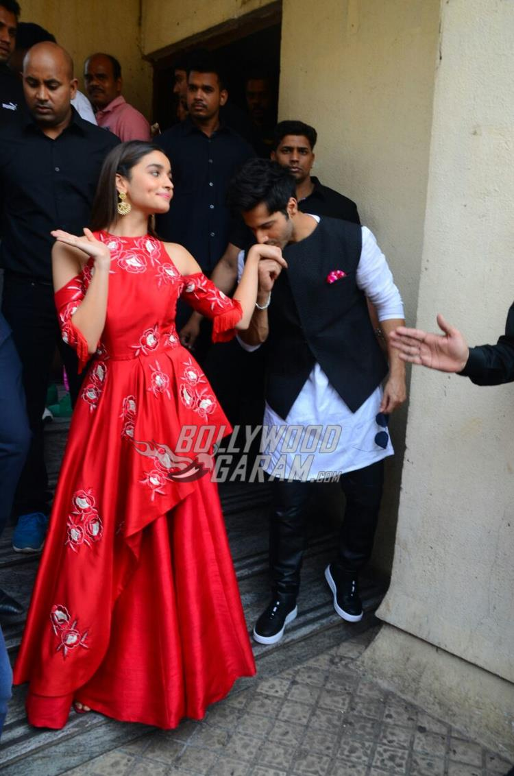 Alia Bhatt and Varun Dhawan launch Badrinath Ki Dulhaniya trailer