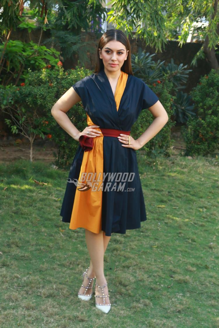Hansika Motwani at Bogan Press meet