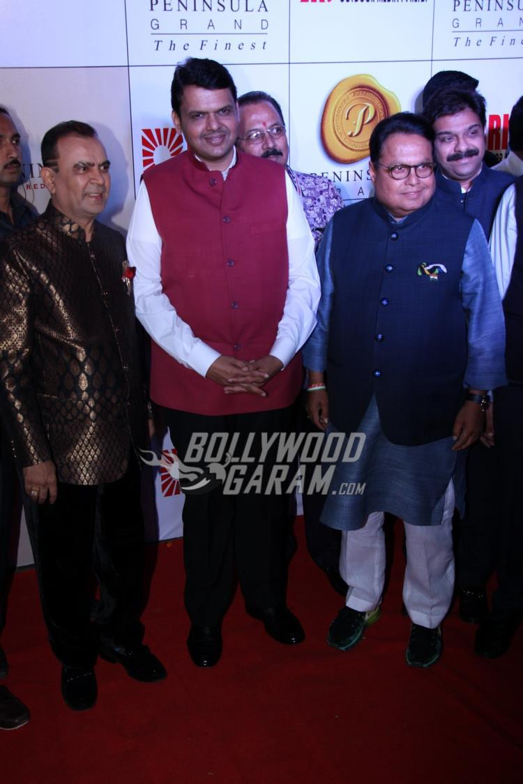 Chief Minister Devendra Fadnavis at Bright Awards 2017