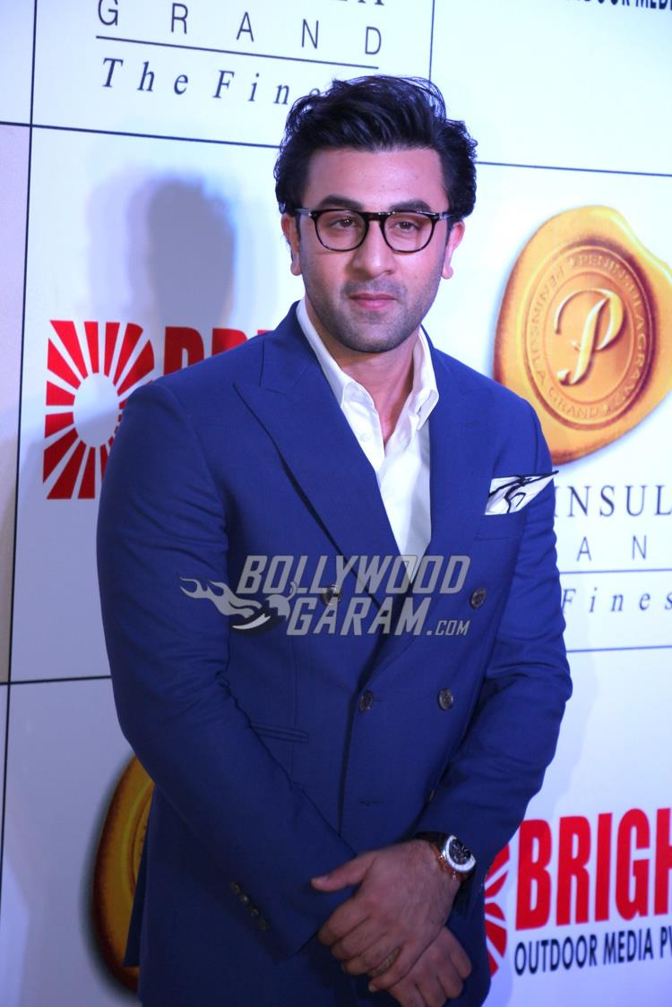 Ranbir Kapoor poses at Bright Awards 2017