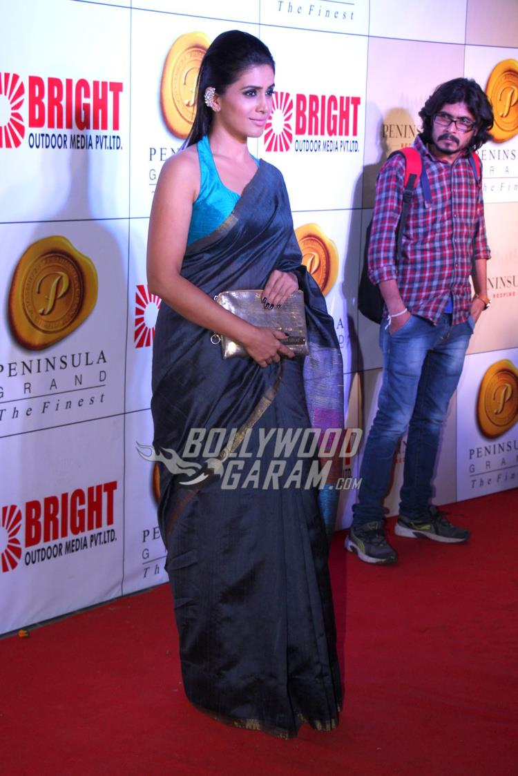 Sonali Kulkarni at Bright Awards 2017