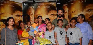 Kangana Ranaut, Shahid Kapoor and Varun Dhawan Spend Time with Cancer Survivors