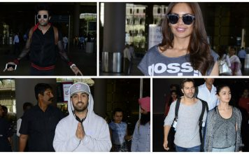 Exclusive Airport Fashion by Bollywood Celebrities! February 19 – 25 Edition