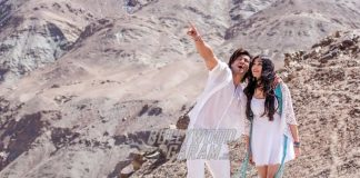Vidyut Jammwal and Adah Sharma Shoot for Romantic Song for 'Commando 2'