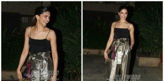 Deepika Padukone Spotted at Shahid Kapoor's Birthday Bash – Photos!