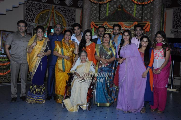 The entire cast at Ek vivah aisa bhi launch