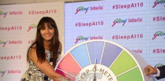 Geeta Phogat Launches Godrej's 'Sleep @10' Campaign