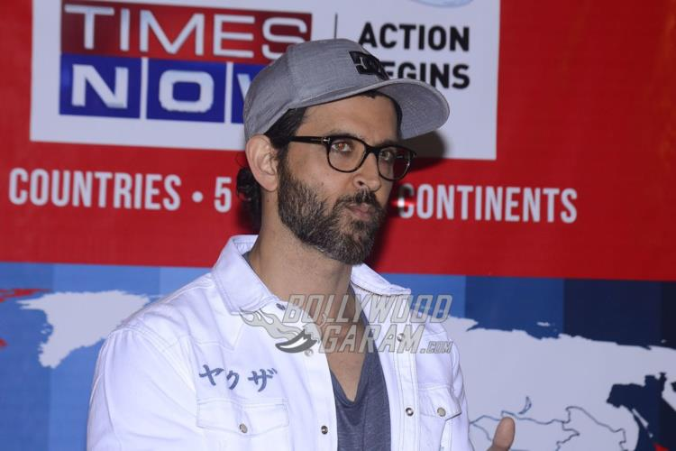 Hrithik Roshan at Times Now celebration event