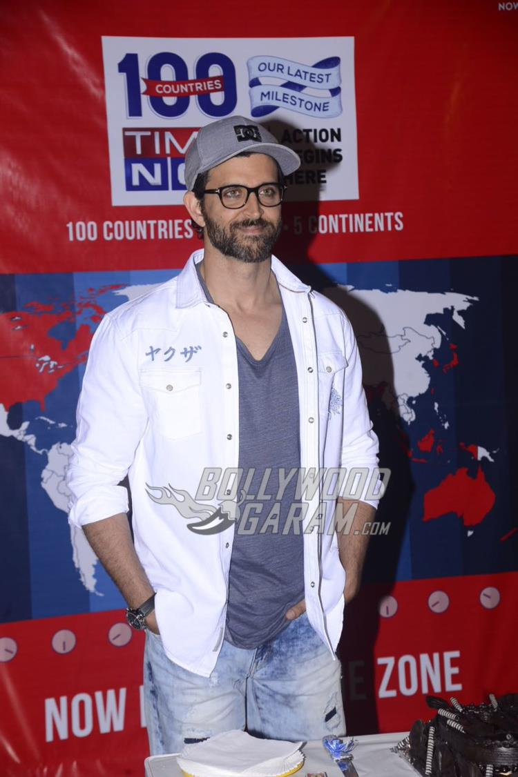 Hrithik Roshan graces Times Now celebration event