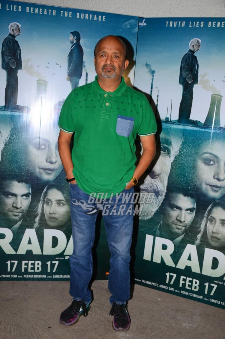 Sameer at special screening of Irada