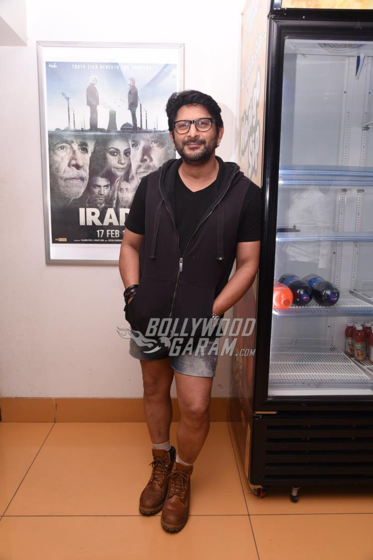 Arshad Warsi at special screening of Irada