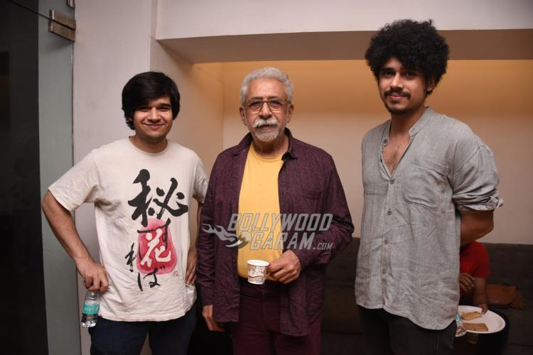 Vivaan Shah and Naseeruddin Shah at special screening of Irada