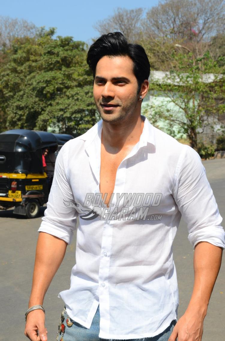 Varun Dhawan at Judwaa 2 PC