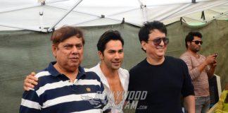 Varun Dhawan, David Dhawan and Sajid Nadiadwala announce 'Judwaa 2' at PC