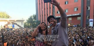 Hrithik Roshan and Yami Gautam on Ahmedabad leg to promote Kaabil