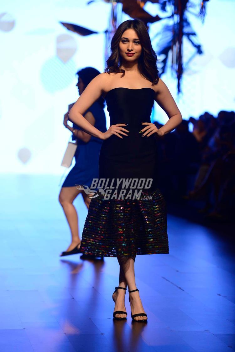 Tamannaah Bhatia at Lakme Fashion Week Summer Resort 2017 Day 1