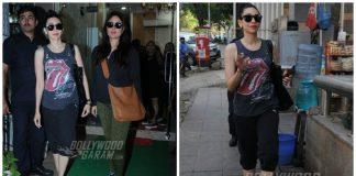 Kareena kapoor and Karishma Kapoor spotted shopping today! Pics