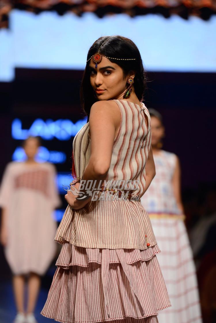 Adah Sharma turns showstopper at Lakme Fashion Week Summer Resort 2017