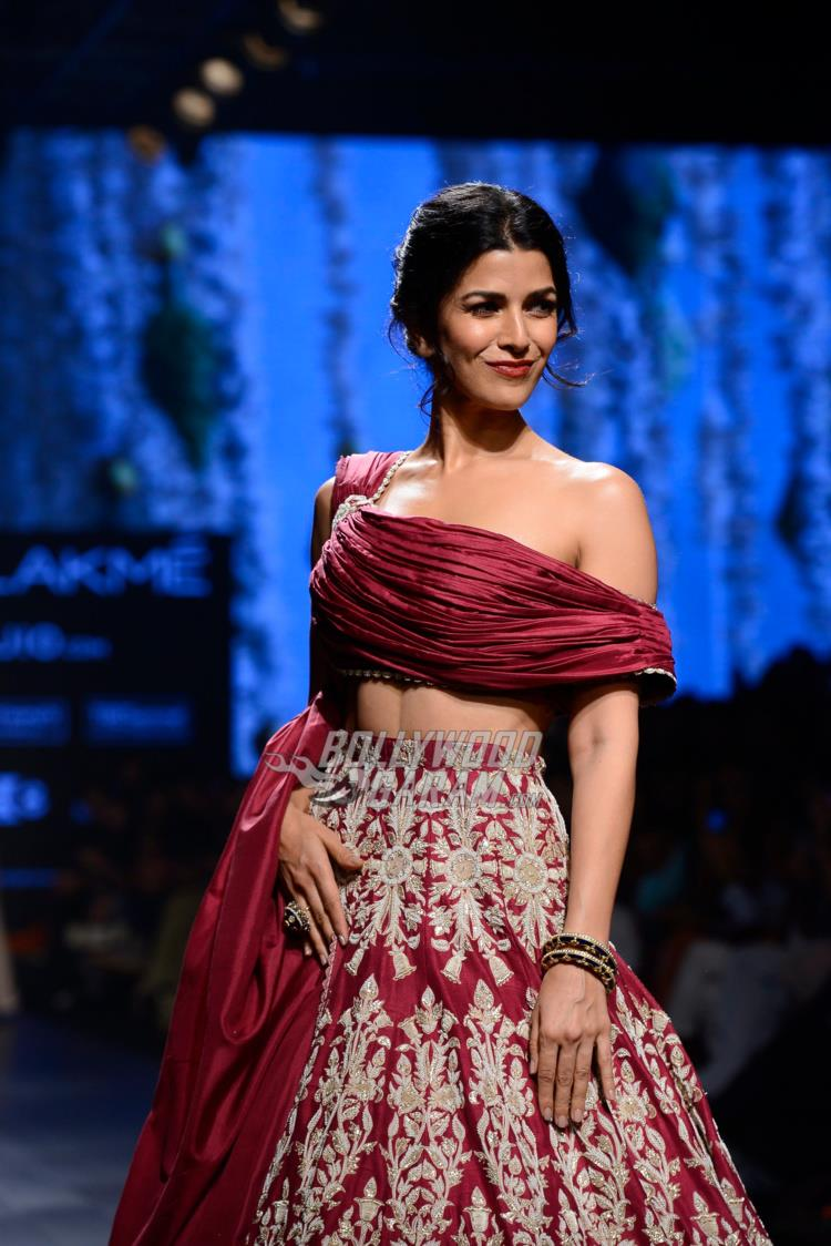 Nimrat Kaur on the ramp at Lakme Fashion Week Summer/Resort 2017 day 3