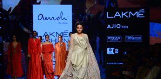 Lakme Fashion Week Summer/Resort 2017 Photos – Swara Bhaskar walks the ramp for Monica Shah and Karisma Swali