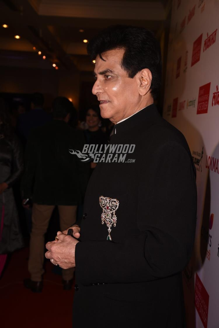 Jeetendra at Maharashtra's Most Stylish Awards red carpet