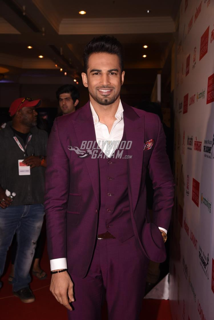 Upen Patel at Maharashtra's Most Stylish Awards red carpet