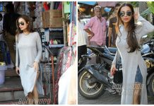 Malaika Arora Khan Snapped At Pali Hill – Photos