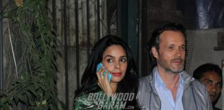 Mallika Sherawat in a happy space with French beau Cyrille Auxenfans
