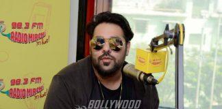 Badshah and Shalmali Kholgade have fun at Mirchi Studios – Photos