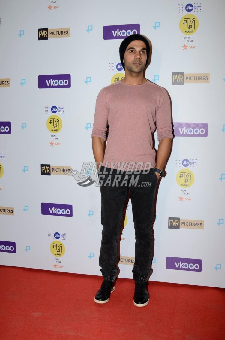 Raj Kumar Yadav at Moonlight premiere event