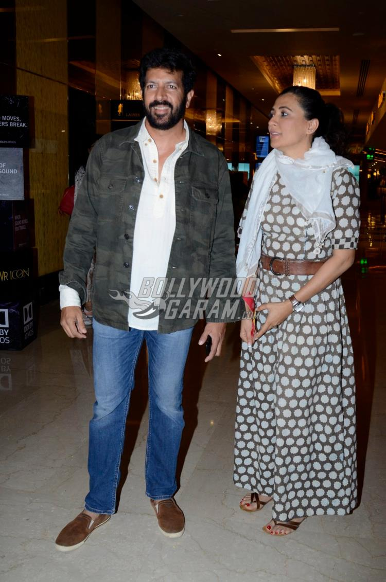 Kabir Khan with wife Mini Mathur at Moonlight premiere event