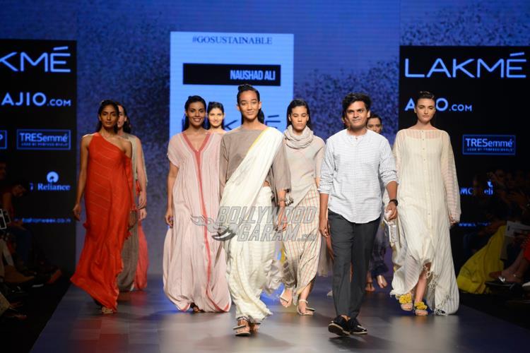 Naushad Ali takes a bow at Lakme Fashion Week Summer Resort 2017