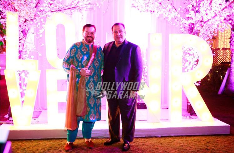 Nitin Mukesh and Rajiv Kapoor at Neil and Rukmini's Pre-wedding bash in Udaipur