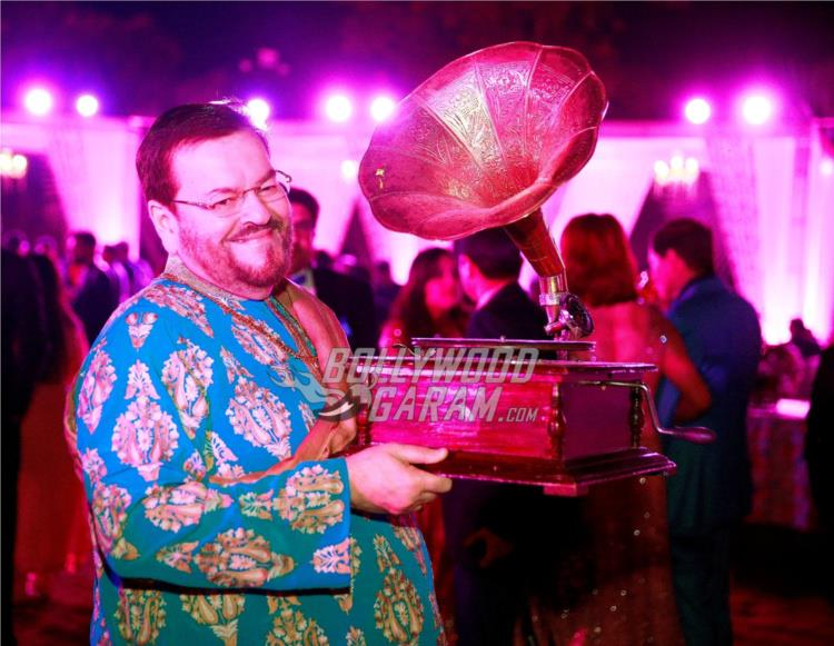 Nitin Mukesh at Neil and Rukmini's Pre-wedding bash in Udaipur