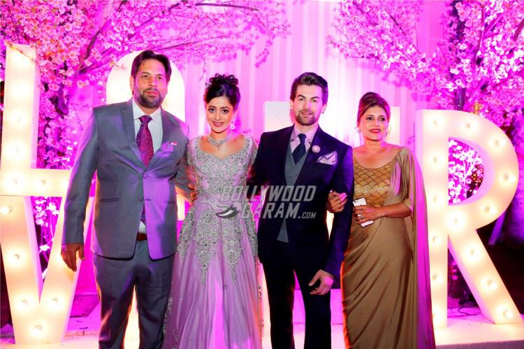 The Sahay family at Neil and Rukmini's Pre-wedding bash in Udaipur