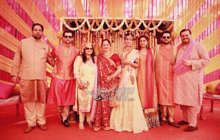 Mukesh family all set at Neil and Rukmini's Sangeet