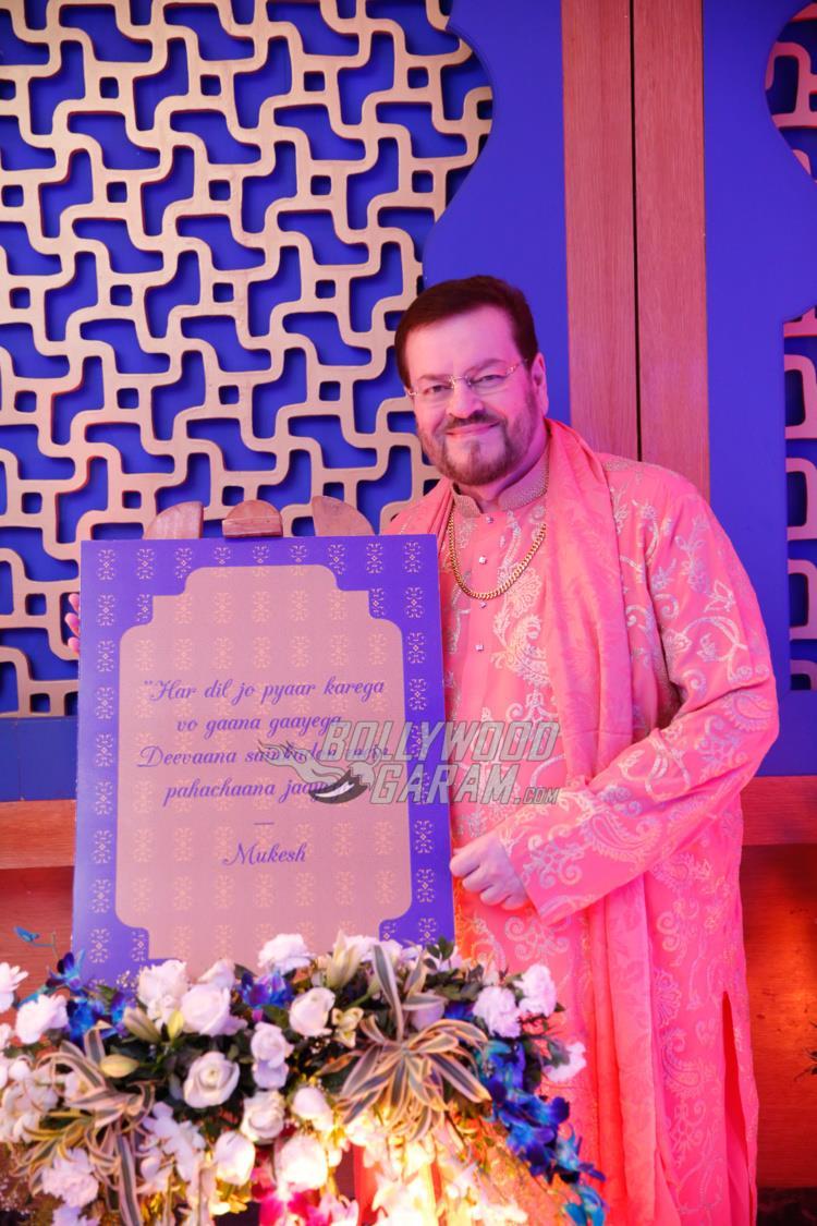 Nitin Mukesh at Neil and Rukmini's Sangeet ceremony