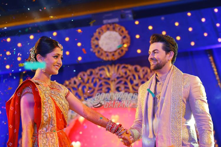 Rukmini and Neil perform at Sangeet ceremony