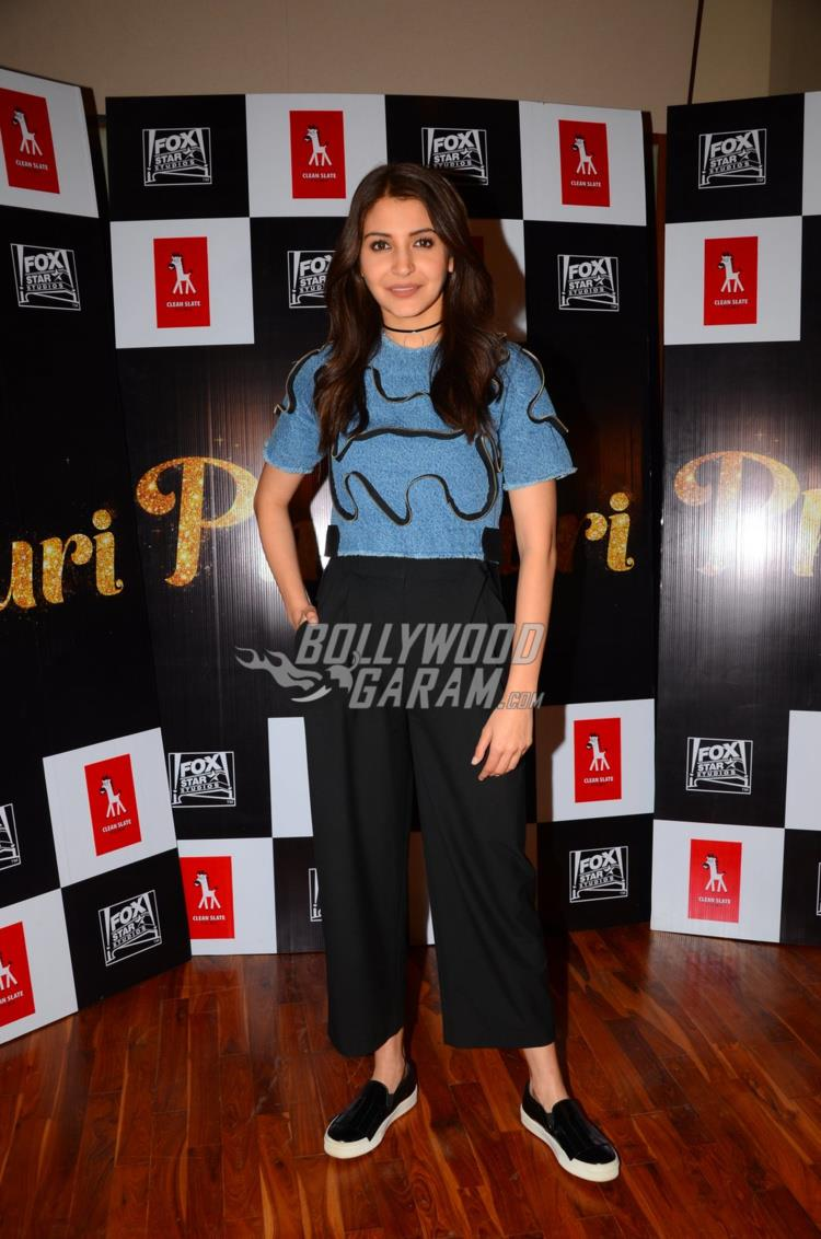 Anushka Sharma at Phillauri trailer launch event