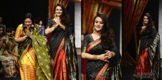 Lakmé Fashion Week Summer/Resort 2017: Preity Zinta turns showstopper for Mekhela Chador by Sanjukta Dutta
