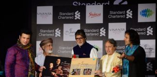 Jaya and Amitabh Bachchan Grace Launch of 'Rabab to Sarod'
